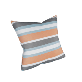 Outdoor Throw Cushion Cover, Orange