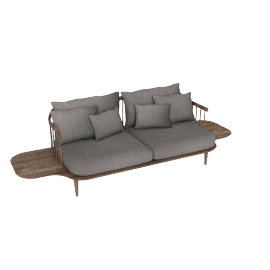 FLY SOFA WITH SIDE TABELS by &tradition