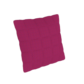 Soft Grid Pillow