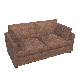 Ravel Small Sofa Bed, Brown