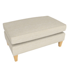 Bailey Footstool, Milton Putty