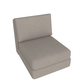 Eterno 1 Seater Armless, Sand