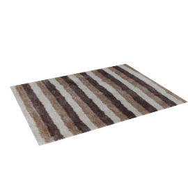 Soft Stripes Rug - 120x160 cms, Multicolour