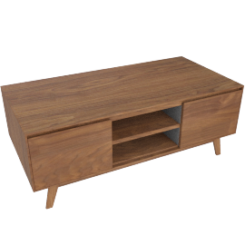 Clover Tv Unit-Brown