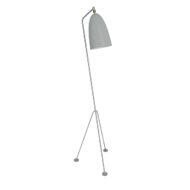 Grasshopper Floor Lamp, Blue Grey
