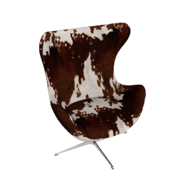 Egg Chair - Cowhide - Cowhide