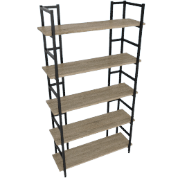 Parson 5-Shelf Bookcase