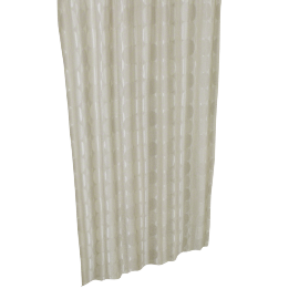 Circle Shower Curtain - 240x180 cms