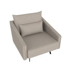 Costura Armchair, Flax, Linen Weave