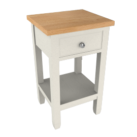 Neptune Chichester Bedside Table, Old Chalk