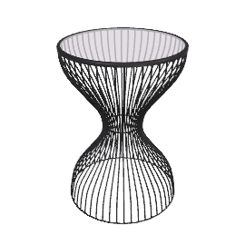 Content by Conran Curved Wire Side Table