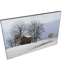 Silver Morning Picture Frame - 24x35x1 inches