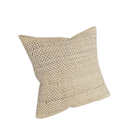 Silk Sawtooth Pillow