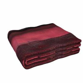 Pintuck Taffeta Bedspread, Ruby, W260 x L270cm