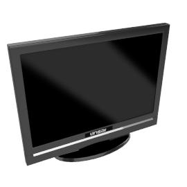 Linsar L19WDF2V LCD HD Ready Digital Television/DVD Combi, 19 Inch