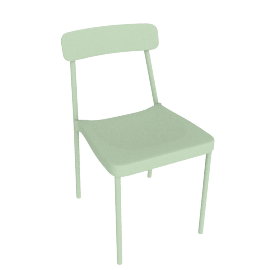 Grace Side Chair, Mint.Green