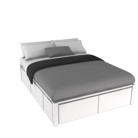 John Lewis Sullivan Storage Bed, Kingsize