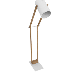 Focus Floor Lamp, White