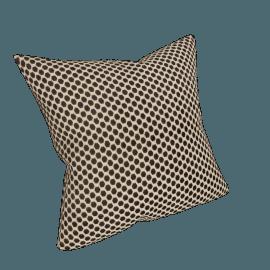 Mini Spot Cushion, Cassis