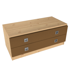 Riva 2 Drawer Wide Chest