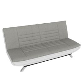 Faith Sofa Bed, Grey/White