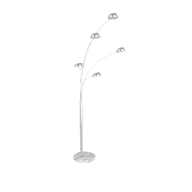 Senk Floor Lamp, Chrome