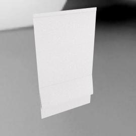 Roman Blind, White, W60cm