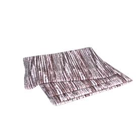 Amalfi Velvet Throw, Peat