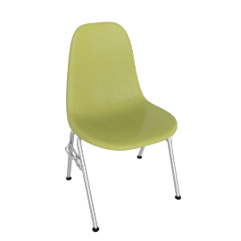 Eames® Molded Plastic Stacking Side Chair - DSS
