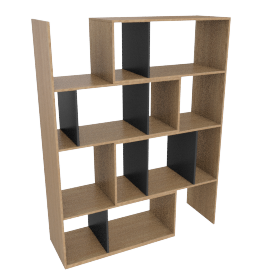 Kya extending shelving unit, oak