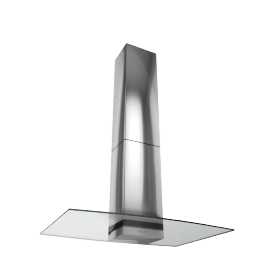 Elica Concept Glacier 70 Chimney Cooker Hood, Stainless Steel