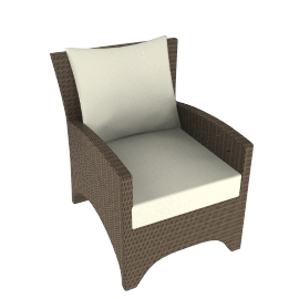 Barlow Tyrie Savannah Deep Seat Garden Armchair