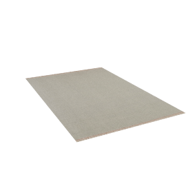 Duotone Rug 6x9, Cream Blue