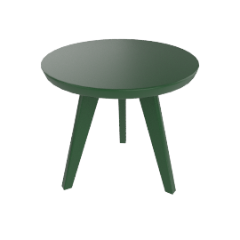 Satellite End Table, British Green