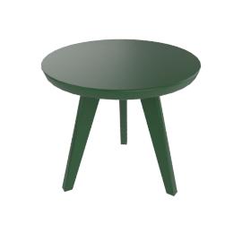 Satellite End Table, British Green