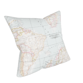 John Lewis Maps Cushion