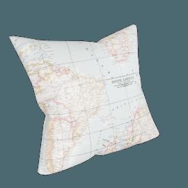 John Lewis Maps Cushion