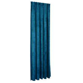 Sheldon Blackout Curtain Pair - 140X300Cm - Teal