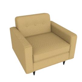 Bantam Armchair, Gold