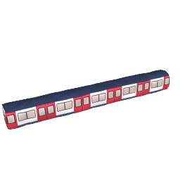 Underground Draught Excluder Train