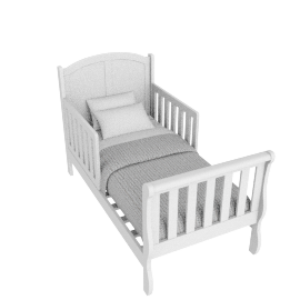 Jessie's Toddler 70X140, White