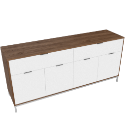 Blend 4-Drawer Buffet, Brown