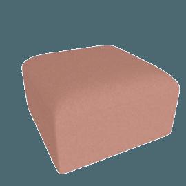 Juno modular - Ottoman, Dusk Pink