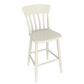Cecile Bar Chair, Cream