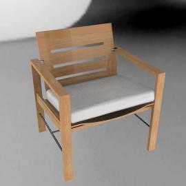 Elan Dining Armchair - Teak