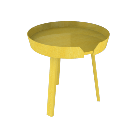 Around Table, Small - Yellow