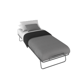 Sussi Optimal Folding Bed, Single