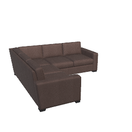 Portola Sectional - Ultrasuede