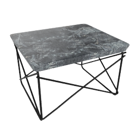 Outdoor Eames® Wire-Base Table - Black.Graphite