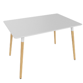 Alix 4 Seater Dining Table - 120x80 cms
